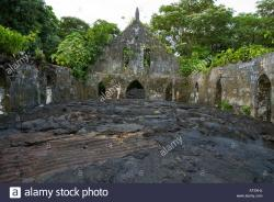Sale'aula Lava Fields Central North Coast | Church And Lava Field Stock Photos & Church And Lava Field Stock ...