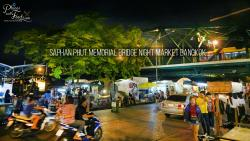 Saphan Phut Night Bazaar Bangkok | Saphan Phut Memorial Bridge Night Market in Bangkok