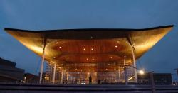 Senedd Cardiff | The Senedd will be lit up in French flag colours as global ...