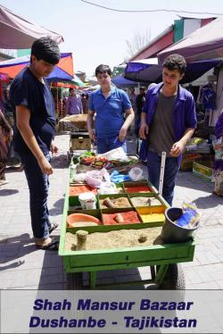Shah Mansur Bazaar Dushanbe | The Shah Mansur Bazaar, also known as the Green Market, is the ...