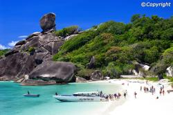 Sail Rock Similan Islands Marine National Park | Similan Islands - Everything you Need to Know about Similan Islands