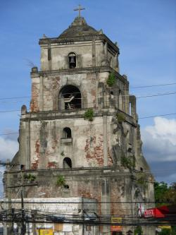 Sinking Bell Tower Laoag | Laoag City's Sinking Belltower | J Single-Handedly Saves the ...