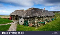 Skye Museum of Island Life The Northern Highlands and the Western Isles | Museum Of Island Life Stock Photos & Museum Of Island Life Stock ...