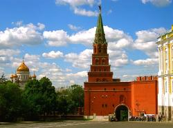 Sobakina Tower Moscow | Moscow Kremlin walls and towers