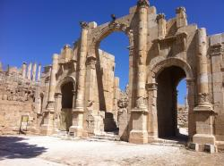 South Gate Jerash | Visiting Jerash & Aljun Castle, Jordan - Stop Having a Boring Life