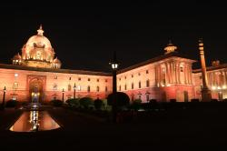 South Secretariat Delhi | Philips Lighting casts a new light on North and South Block of ...