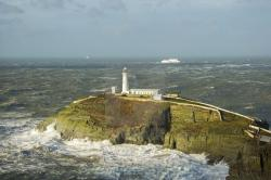 South Stack Lighthouse Holyhead | South Stack Lighthouse, Holyhead, Anglesey, Wales. - License for ...