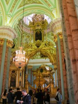 SS Peter & Paul Cathedral St Petersburg   Iconostasis of the Cathedral of Saints Peter and Paul, St ...