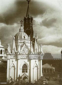 St. Catherine's Church Moscow | The St Catherine Church of the Ascension Convent in the Kremlin ...