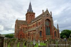 St Magnus Cathedral Kirkwall | Scotland ~ Kirkwall, Orkney Islands | A Note From Abroad
