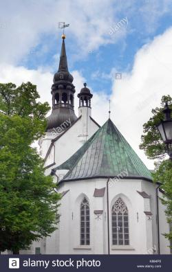 St Mary's Lutheran Cathedral Tallinn | Cathedral Of St Mary The Virgin Tallinn Stock Photos & Cathedral ...