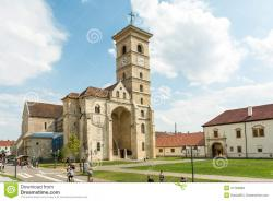 St Michael's Cathedral Alba Iulia | Saint Michael Cathedral editorial stock photo. Image of ...