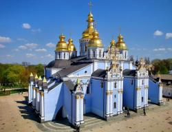 St Michael's Golden-Domed Monastery Kyiv | Conflict in Kyiv, Ukraine - Double-Barrelled Travel