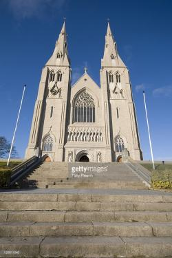 St Patrick's Roman Catholic Cathedral Armagh City | The Present Catholic St Patricks Cathedral In Armagh Northern ...