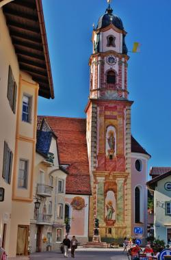 St. Peter and St. Paul Church The Bavarian Alps | 1160 best churches images on Pinterest | Cathedral church ...