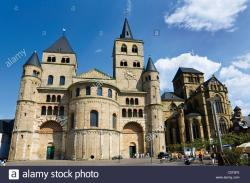 St. Peter The Rhineland | Germany, Rhineland-Palatinate, Treves, St Peter Cathedral Stock ...