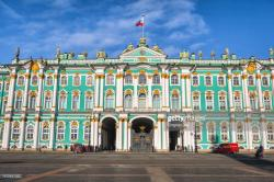State Hermitage Museum St Petersburg   Front View Of The Winter Palace State Hermitage Museum In St ...