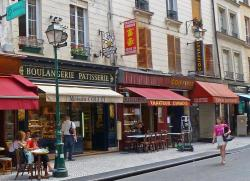 St-Julien-le-Pauvre Paris | Living the life in Saint-Aignan: Rue Montorgueil, Paris