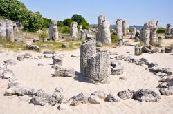 Stone Forest Bulgaria | Exploring Varna: The Stone Forest - Rossi Writes