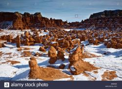 Stonehenge Memorial Southeastern Washington | Goblin Valley State Park in the San Rafael Swell area of southern ...