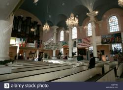 St. Paul's Chapel New York City | Inside St Pauls Chapel ground zero new york city new york USA ...