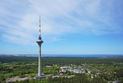Tallinn TV Tower Tallinn | Tallinn TV Tower | Photo by Marko Leppik Visitors to the 314… | Flickr