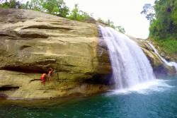 Tangadan Falls San Juan (La Union) | Get your adrenaline rush in Tangadan Falls, La Union - moredantravels