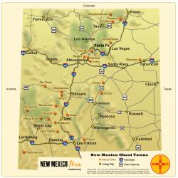 Oatman Northwest Arizona | Ghost Towns of New Mexico | Trail & Map | New Mexico True