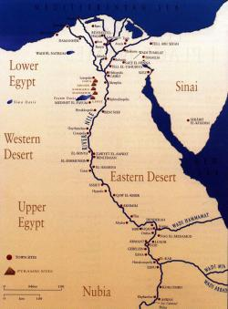 Tell al-Amarna The Nile Valley and Luxor | map of nile river ancient egypt - Google Search | Nile River ...