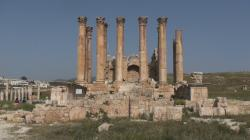 Temple of Artemis Jerash | Gerasa Temple of Artemis or Diana at Jerash - Jordan - YouTube