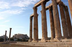 Temple of Olympian Zeus Athens | See the Temple of Olympian Zeus in Athens Greece