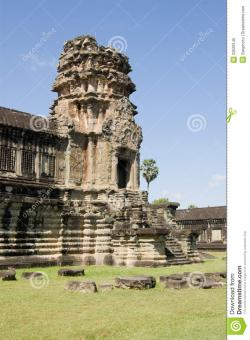 The Elephant Gate Angkor Wat | Elephant Gate, Angkor Wat Temple, Cambodia Royalty Free Stock ...