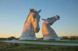 The Kelpies Central Scotland | The Kelpies - Equine Art at The Helix | VisitScotland