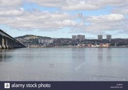 The Law Fife and Angus | Tay Road bridge and city of Dundee skyline Angus from Newport Fife ...