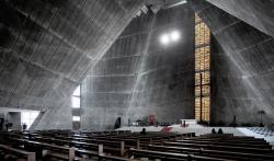 Tod's Omote-sandō Tokyo | St. Mary's Cathedral in Tokyo / Kenzo Tange ⋆ ArchEyes