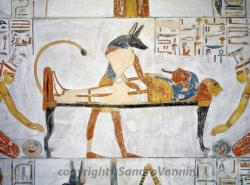 Tomb of Siptah (KV 47) Luxor | Painting from the tomb of King Siptah, New Kingdom, 19th Dynasty ...