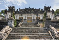 Tombs of the Emperors The Central Coast | Khai Dinh Tomb in Hue, Vietnam | Travel Inspiration | Pinterest ...