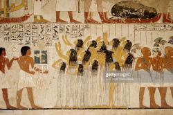 Tombs of the Nobles Luxor | Mural Paintings In The Tomb Of Ramose Tombs Of The Nobles Luxor ...