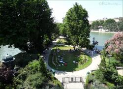 Tour Montparnasse Paris | HD Photos Of Square Du Vert Galant On The Ile De La Cite Paris ...