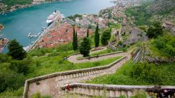 Town Walls Kotor | Kotor Old Town Walls Pictures: View Photos & Images of Kotor Old ...
