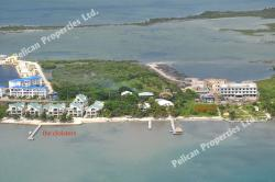 Tres Cocos Ambergris Caye | West Side, across the lagoon from San Pedro Town, Aerial photos of ...