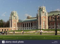 Tsaritsyno Moscow | Grand Palace in the State Museum-Reserve Tsaritsyno, Moscow ...