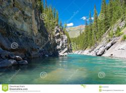 Upper Hot Springs Pool Banff Town   Cascade River, Banff National Park Stock Photo - Image: 20402432