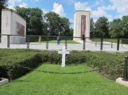 US Military Cemetery Luxembourg City | General George Patton's grave at Luxembourg American Cemetery and ...