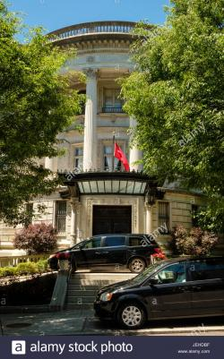 US Naval Observatory Washington, DC | Turkish Embassy Ambassador's Residence, Everett House, 1606 23rd ...