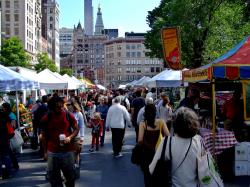 Vinegar Hill New York City | Union Square Greenmarket | Eat Well Guide
