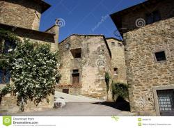 Volpaia Tuscany | Old Town In Volpaia (Tuscany, Italy) Royalty Free Stock Images ...