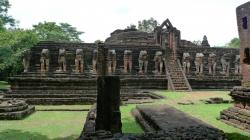 Wat Chang Rob Kamphaeng Phet | Panoramio - Photo of Wat Chang Rob, Kamphaeng Phet