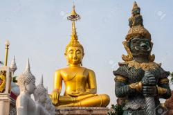 Wat Tai Ubon Ratchathani | Wat Tai Ubon Ratchathani, Thailand Stock Photo, Picture And ...