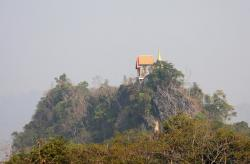 Wat Tha Khanun Thong Pha Phum | Panoramio - Photo of Morning view From a little Temple (Thong Pha ...